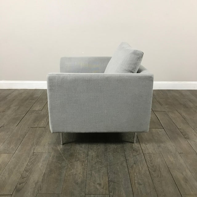 Clean Lined Modern Armchair - Image 9 of 11