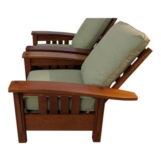 Adirondack Stickley Bow Arm Chair For Sale