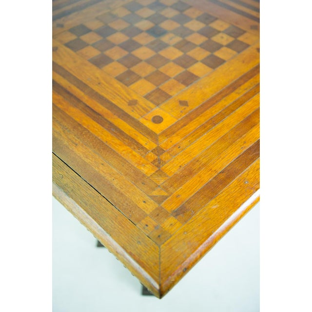 19th C. Victorian Parlor Game Table For Sale In Atlanta - Image 6 of 11