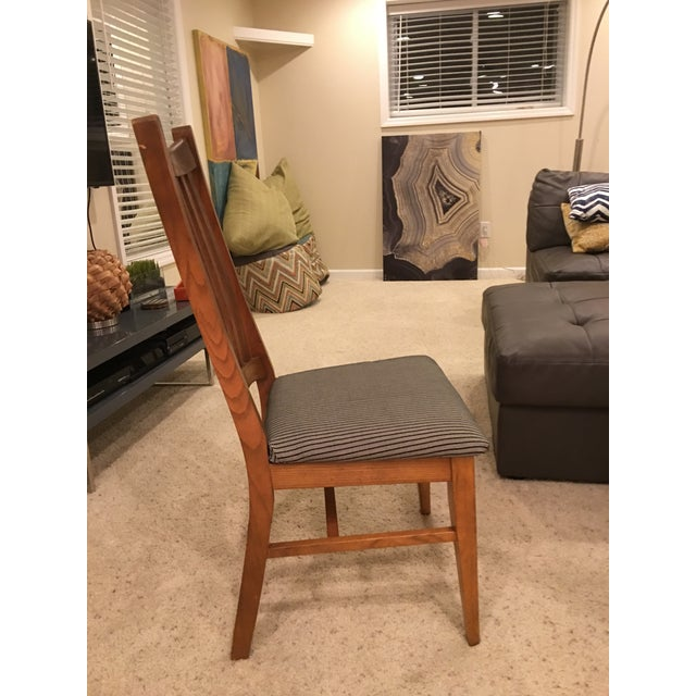 Mid-Century Modern High Back Dining Chairs - Set of 4 - Image 9 of 10