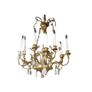 Louis XVI Style Chandelier For Sale