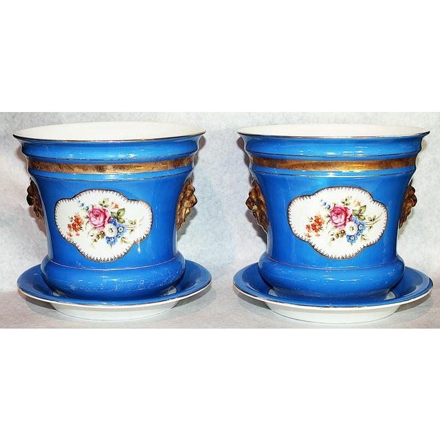 Carl Tielsch Porcelain Planters - A Pair - Image 2 of 7