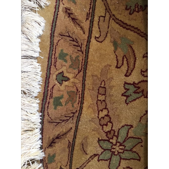 Vintage Hand-Knotted Rug - 10′ × 14′ - Image 3 of 4