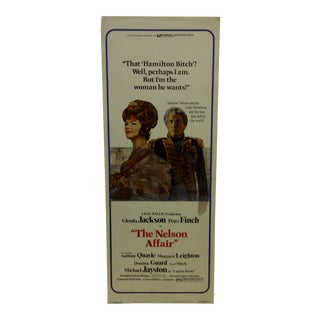 "Vintage Movie Poster ""The Nelson Affair"" 1973 For Sale"