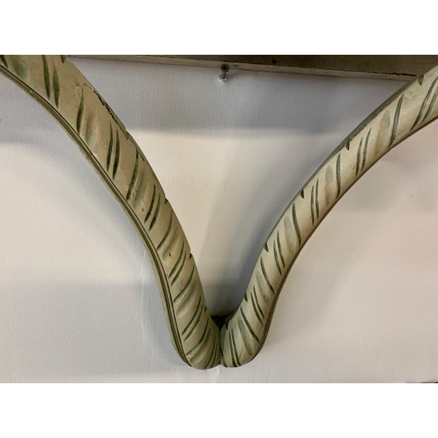 1960s Acanthus Leaf Wall Shelf in the Manner of Dorothy Draper For Sale - Image 5 of 8