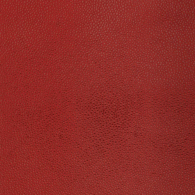Contemporary Sample - Schumacher Shagreen Wallpaper in Oxblood For Sale - Image 3 of 3