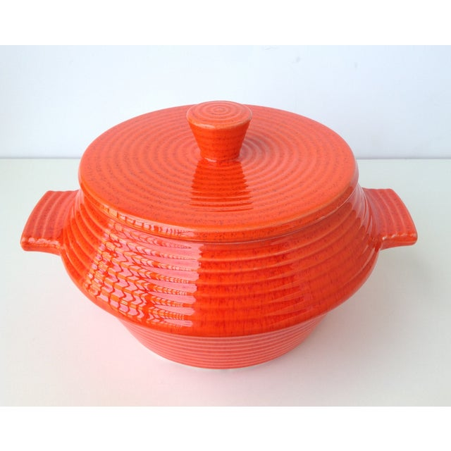 California Pottery Lidded Soup Tureen For Sale - Image 4 of 11