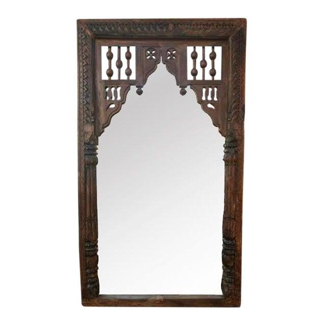 Antique Door Frame Mirror - Antique Door Frame Mirror Chairish