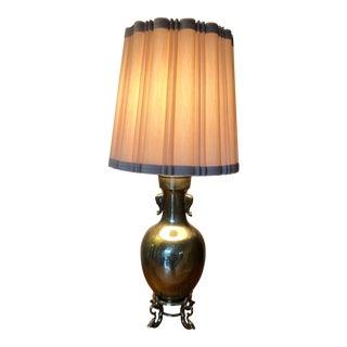 Vintage Marbro Urn Lamp W/Elephant Motif For Sale