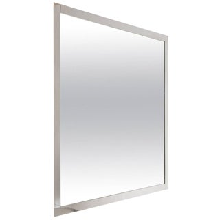 """Fasce Cromate"" Wall Mirror by Caccia Dominioni for Azucena For Sale"