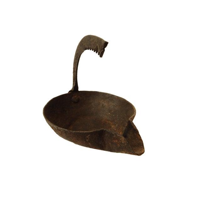 Antique Roman Bronze Oil Lamp For Sale - Image 5 of 7