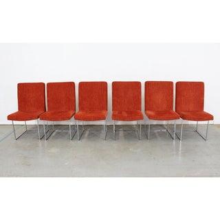 Set of 6 Mid-Century Danish Modern Milo Baughman Thayer Coggin Dining Chairs Preview