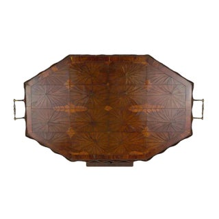 Oyster Veneer Tray For Sale