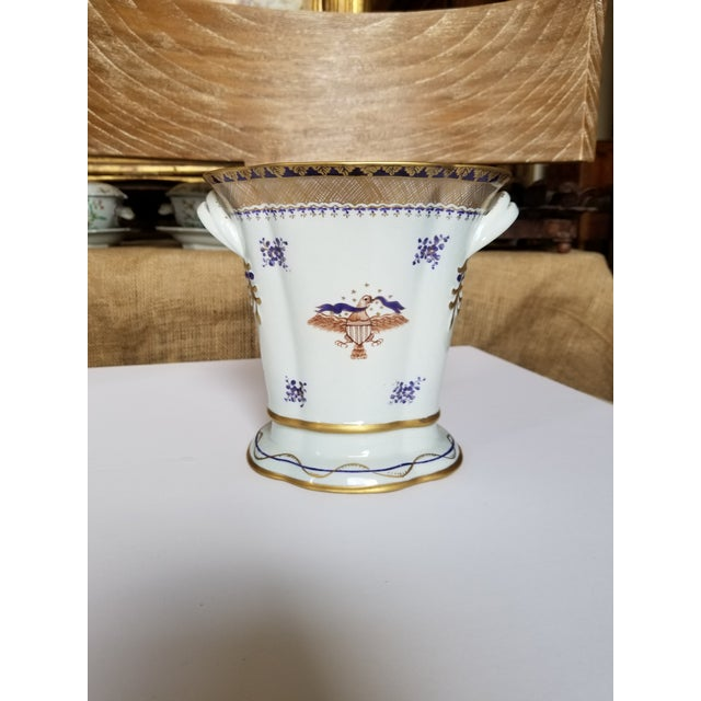Chinese Export Style Vase by Mottahedeh For Sale - Image 11 of 11