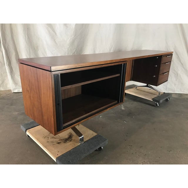 Imperial Staggered Desk & Credenza For Sale In Kansas City - Image 6 of 11