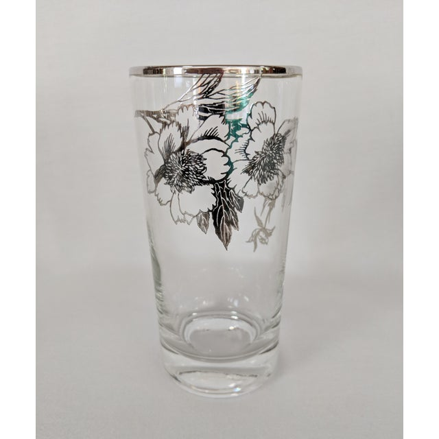 Sterling Silver Overlay Highboy Glasses - Set of 10 For Sale In Raleigh - Image 6 of 9