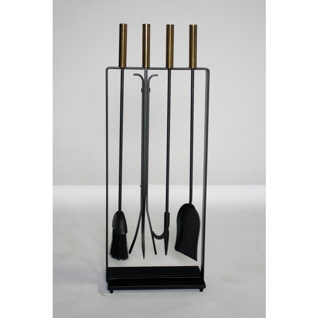 Modernist Fireplace Tool Set - Image 2 of 6