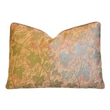 """Image of Italian Mariano Fortuny Edera Feather/Down Pillow 20"""" X 14"""" For Sale"""