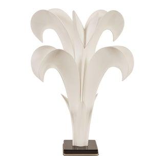 20th Century Maison Rougier Floriform Table Lamp For Sale