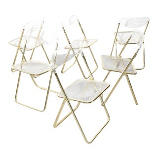 Vintage Italian Folding Chairs For Sale