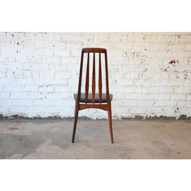 Niels Koefoed for Koefoeds Hornslet Eva Rosewood Dining Chairs- Set of 6 - Image 11 of 11