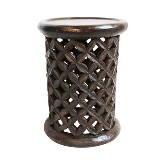 Bamileke Side Table / Stool For Sale