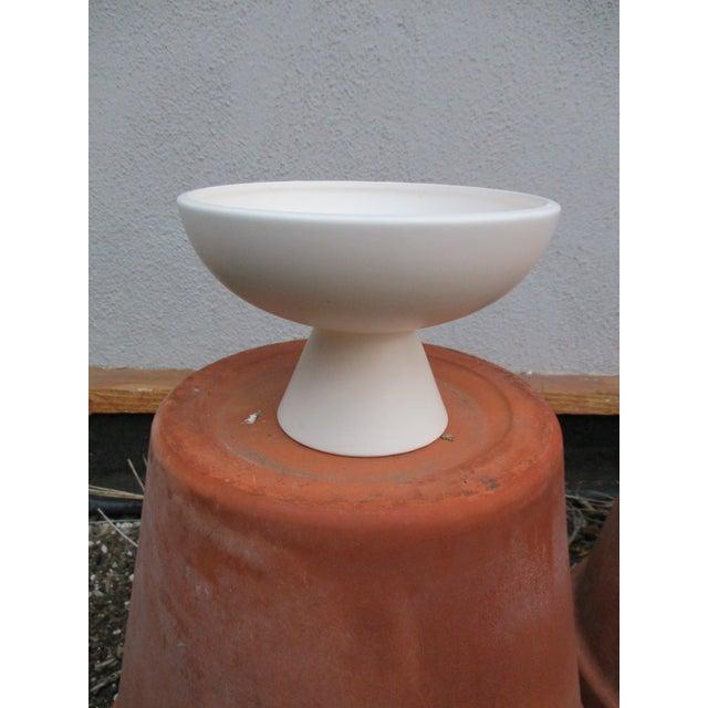 Modernist Matte Ceramic Planter - Image 8 of 8