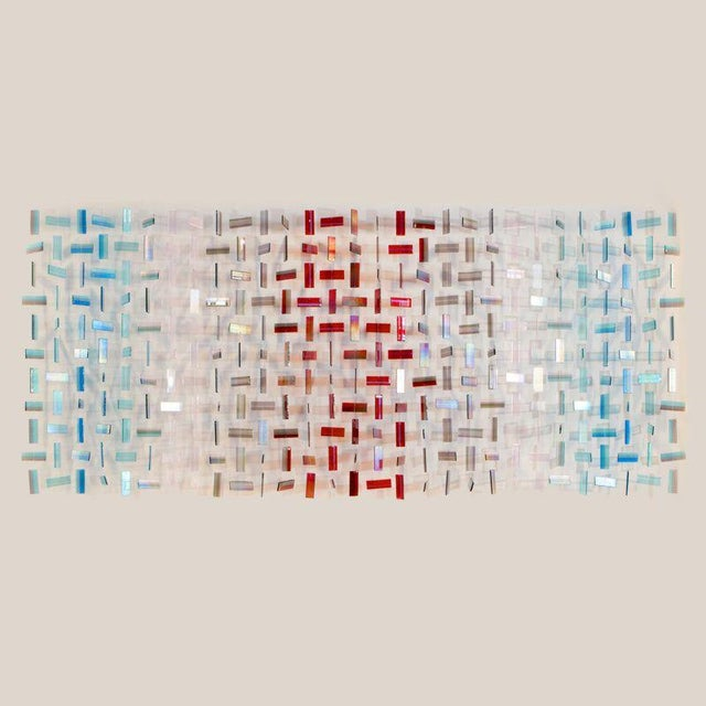 "2010s Amy Cushing, ""Untitled Blue Silver Red"", Uk, 2015 For Sale - Image 5 of 5"