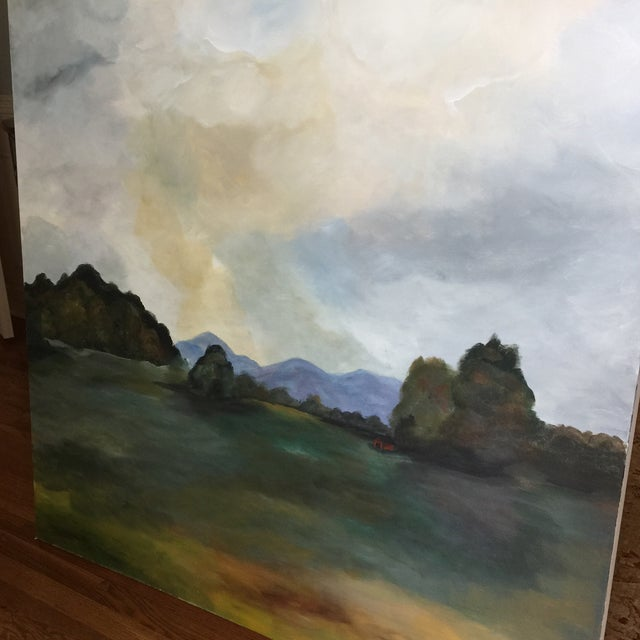 'Southern Clouds' Original Painting For Sale In Atlanta - Image 6 of 7
