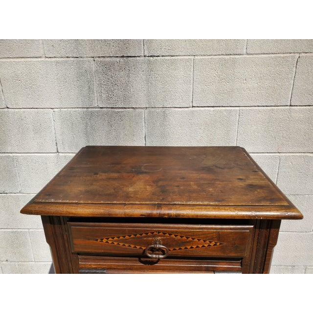 Antique 19th Century Small Bonnetiere For Sale - Image 9 of 12