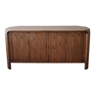 Oak Credenza by Lou Hodges For Sale