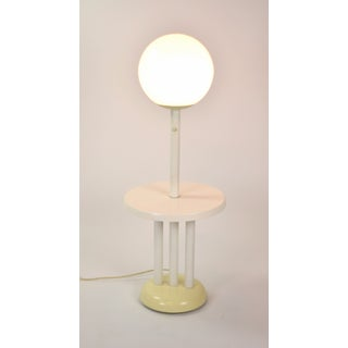 Vintage Mid Century Modern Atomic Lunar I Globe Floor Lamp With Table Preview