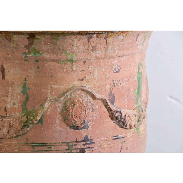 Pair of Large 18th Century Anduze Jars For Sale - Image 4 of 11