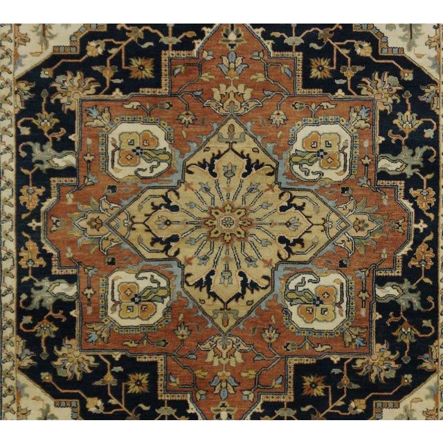 "New Indian Tabriz Design Rug - 6' x 8'7"" - Image 2 of 3"