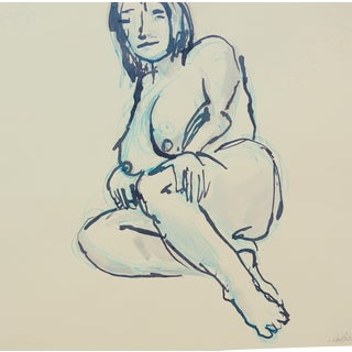 Drawing of a Nude Model For Sale