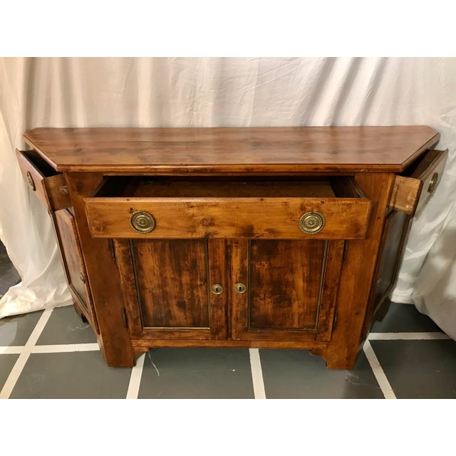 Unusual Napoleon III Walnut Buffet For Sale - Image 6 of 8