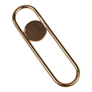 Contemporary Copper Disco Bottle Opener For Sale