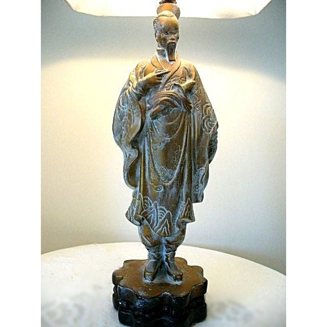 1960s Vintage Asian Table Lamp - Image 3 of 3