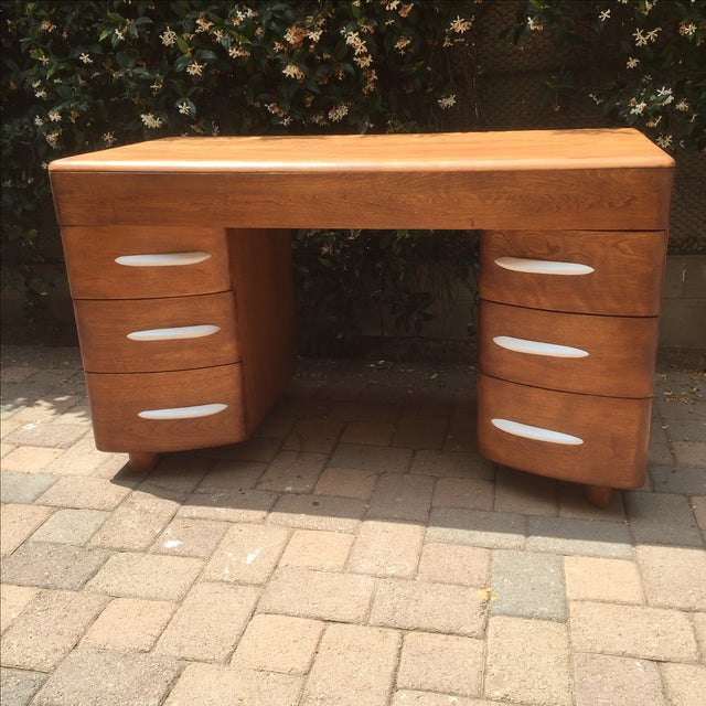 Custom Heywood Wakefield Desk Vanity - Image 2 of 6