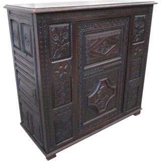 French Antique Sideboard Server Vestry Cupboard For Sale