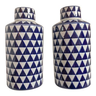 Geometric Ginger Jars For Sale