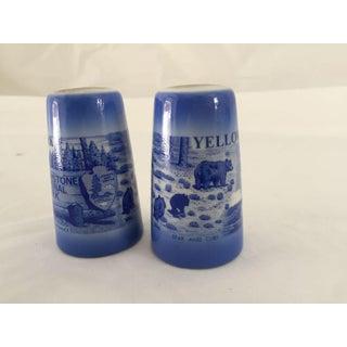 Mid-Century Yellowstone Park Souvenir Salt & Pepper Shakers - A Pair Preview