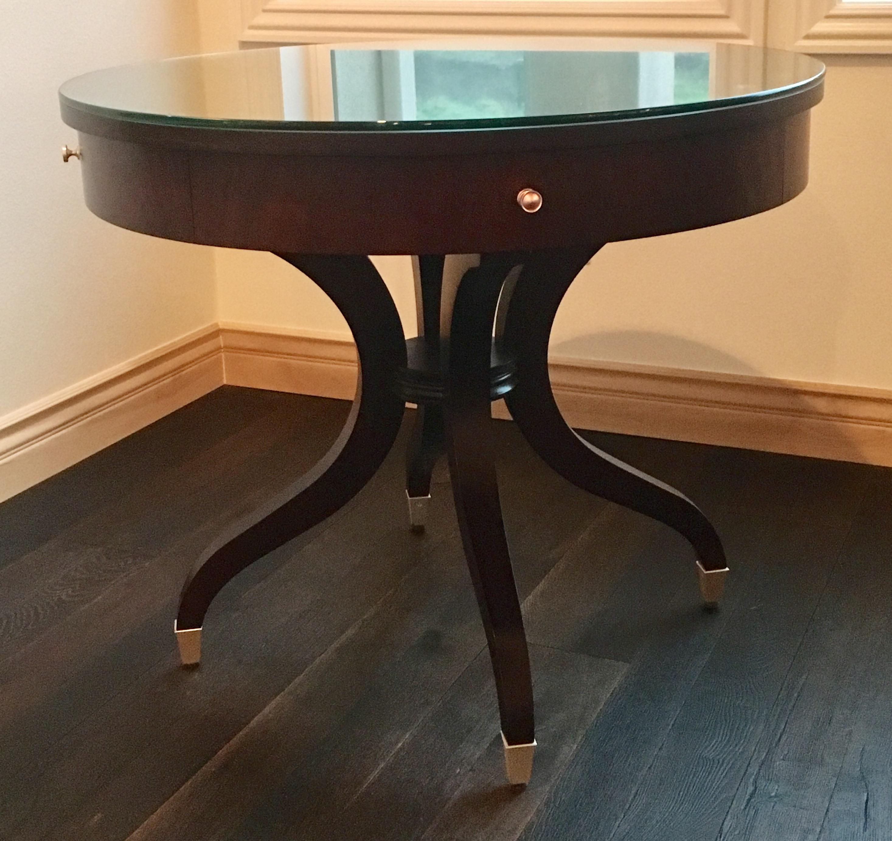 Gentil Ethan Allen Wilshire Table   Image 2 Of 8