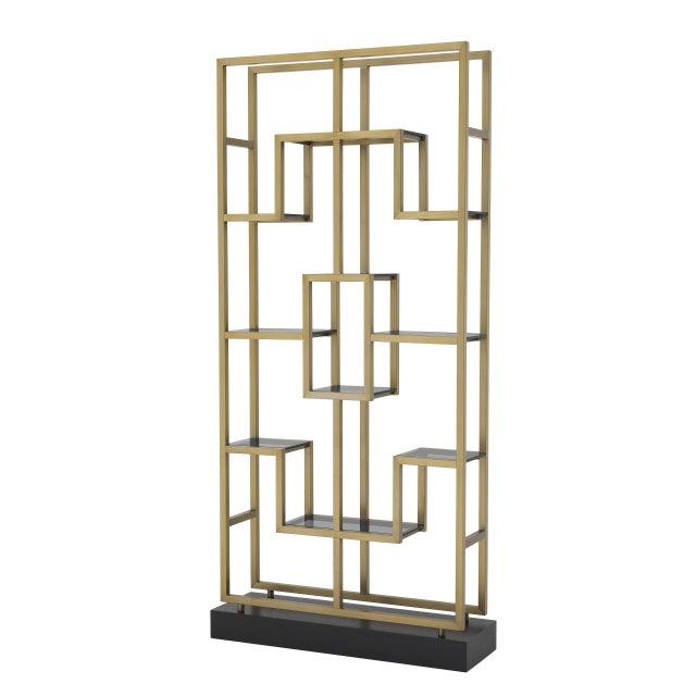Metal Multi-Level Decorative Cabinet | Eichholtz Lagonda For Sale - Image 7 of 7