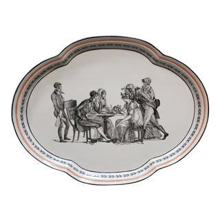 Mottahedeh Musee Des Arts Decoratifs Platter Made in Italy For Sale