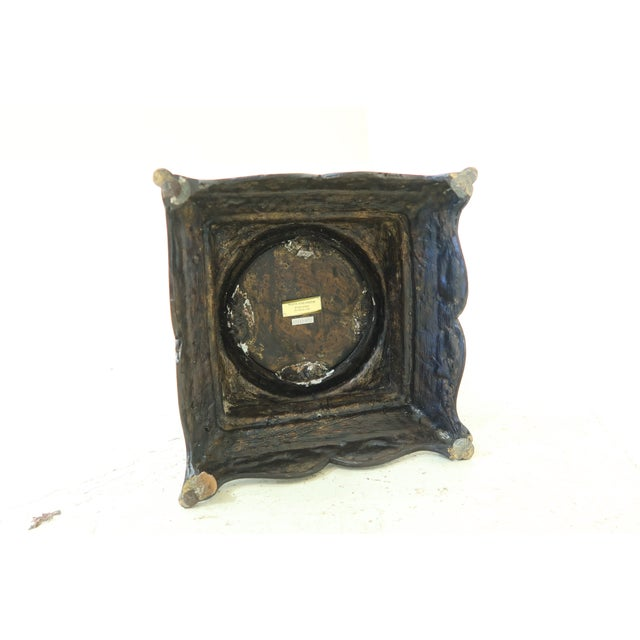 Bronze Maitland Smith Bronze Pagoda Form Lidded Urn For Sale - Image 8 of 10