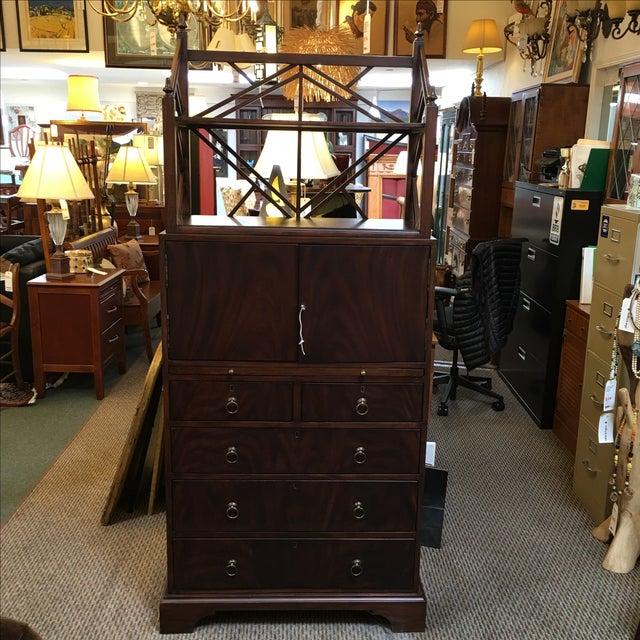 Locking English Storage & Display Cabinet - Image 2 of 10