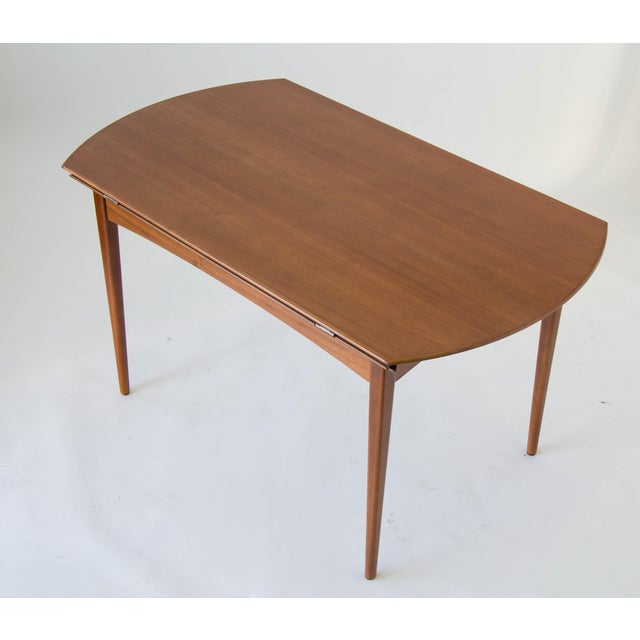 Drop-Leaf Dux Dining Table - Image 7 of 8
