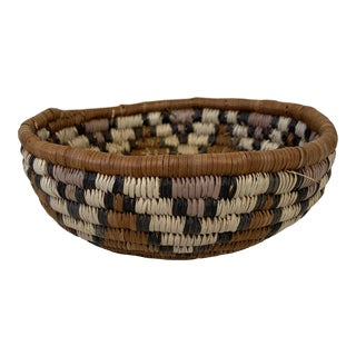 20th Century Tribal Woven Hopi Basket For Sale