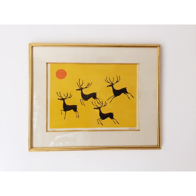 Vintage Keith DeCarlo Signed & Framed Lithograph - Image 2 of 6